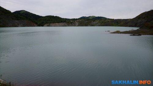 Голубое озеро. Фото автора, сентябрь 2019 года