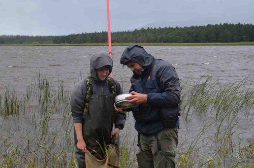 Исследования на озере Серебряном. Автор фото: Андрей Аксёнов