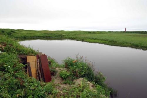 По берегам водоемов ежегодно сооружаются новые охотничьи засидки