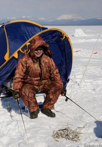 рыбалка на озере айнское сахалин