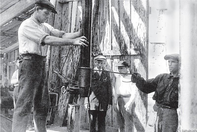 Первый  в Охе Герой Социалистического труда Григорий Подшивайлов