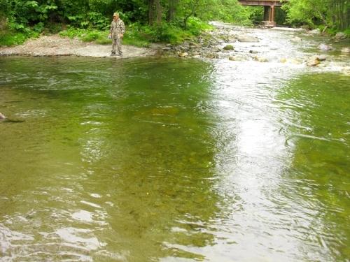Слияние рек Песковка и Волынская