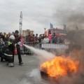 Юные южносахалинцы примерили на себя роль пожарных