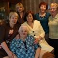 В Корсакове 85-летие отметила участница трудового фронта Александра Зилева