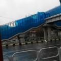 После циклона надземные пешеходные переходы вЮжно-Сахалинске могут стать разноцветными
