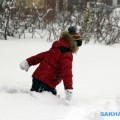 Южно-Сахалинск замело