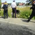 На Холмском шоссе вЮжно-Сахалинске столкнулись двеиномарки