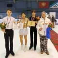 Сахалинские фигуристы завоевали второе место вобщекомандном зачете насоревнованиях вБердске