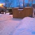 Вандалы повредили общественный туалет наплощади Ленина вЮжно-Сахалинске