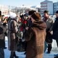 """""""Не дадим похоронить Ленина!"""": сахалинские коммунисты возложили цветы кпамятнику вождю пролетариата"""