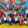 В открытом первенстве Анивского района погреко-римской борьбе приняли участие около 100 юных спортсменов
