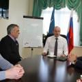 Сахалинский министр спорта встретился сглавным тренером сборной России побиатлону