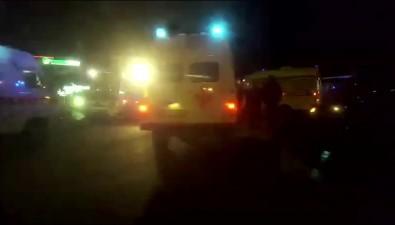 Автомобиль Toyota Chaser перевернулся наперекрестке Пуркаева— Ленина вЮжно-Сахалинске