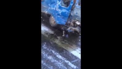 Пять человек погибли наСахалине пристолкновении скорой игрузовика