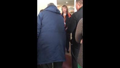 Аэропорт Южно-Сахалинска непринимает ине выпускает воздушные суда