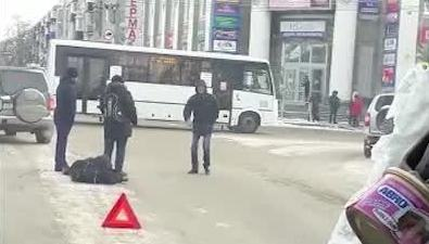 Пешеходу стало плохо прямо напереходе через улицу Сахалинскую вобластном центре