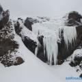 Натечные льды изамерзшие водопады