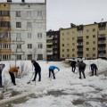 Жители Ноглик приняли участие вовсероссийском экологическом субботнике