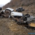 """В Макаровском районе столкнулись """"Нива"""" и""""Тойота"""", есть погибший ипострадавшие"""