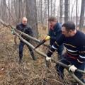 На месте будущего этнокультурного центра вЮжно-Сахалинске провели субботник