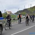 В Курильском районе состоялся традиционный автовелопробег, посвященный 70-летию Сахалинской области