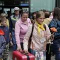 Первая группа сахалинских школьников вернулась изКрыма