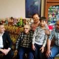 90-летие отметил вАнивском районе участник трудового фронта Владимир Воробьев