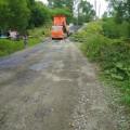 Житель Синегорска принял плановый ремонт проезда запредвыборное латание асфальта