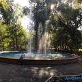 В парке Южно-Сахалинска заработал восстановленный фонтан