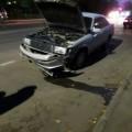 В Охевнедорожник врезультате аварии влетел натерриторию районной больницы