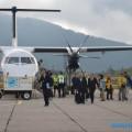 Пассажиры первого чартерного рейса изЯпонии наКурилы задержатся вРоссии из-за тумана