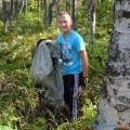 """Участники движения """"Добрые сердца Сахалина"""" потратили выходной науборку парка вКорсакове"""