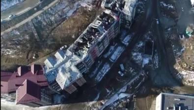Пожар вХолмске могли быпотушить быстрее, если быне работа гидрантов