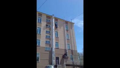 Мужчина выпрыгнул счетвертого этажа тубдиспансера вЮжно-Сахалинске