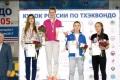 Сахалинские спортсменки завоевали двемедали наКубке России потхэквондо