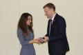 Сахалинский министр спорта вручил учащимся знаки отличия ГТО