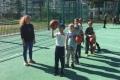 В Южно-Сахалинске проходят тренировки дляначинающих баскетболистов