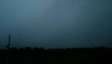 Утренний гром разбудил южносахалинцев