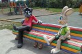 В северо-курильском городском парке установили фигуры героев советских мультфильмов