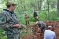 В Смирныховском районе найдены останки японского воина