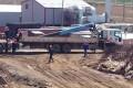 На строительной площадке Сахалинской ГРЭС-2 вовремя разгрузки укран-балки поломалась стрела
