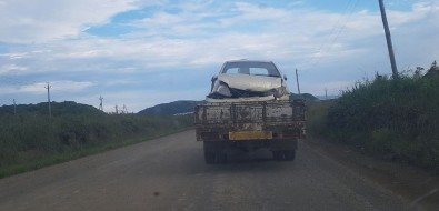Легковушка вылетела вкювет возле села Пионеры