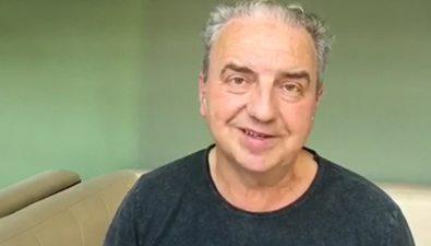 """Лидер группы """"Чайф"""" Владимир Шахрин прислал видеопривет гостям """"Крыльев Сахалина"""""""