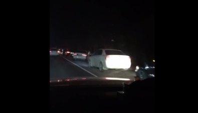 В Новоалександровске нетрезвый гонщик, скрываясь отпогони, протаранил машину ДПС