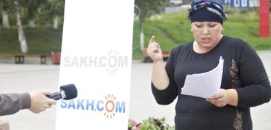 Депрессии небудет: мэрМакарова напрямой линии Sakh.com пообещал своему району развитие
