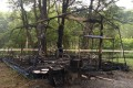 """В """"Сахалинском Артеке"""" сгорела палатка, вкоторой жили дети"""