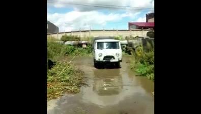 """""""Сахалинская коммунальная компания"""" затопила кипятком дом№135 поулице Чехова"""