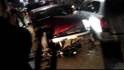 В Холмске нетрезвый водитель снес дваавтомобиля иподрался ссотрудником ДПС