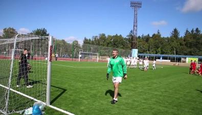 """В городском парке Южно-Сахалинска после реконструкции открылся стадион """"Космос"""""""