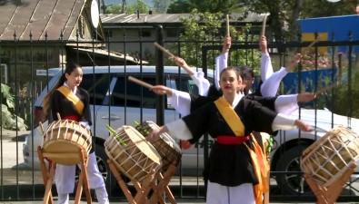 В Южно-Сахалинске подзвук корейских барабанов открылся магазин Hankook Masters